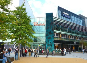 Aspers  Casino Stratford Westfield in Londen