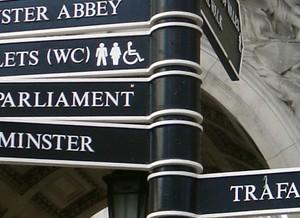 Kaart en plattegrond Londen