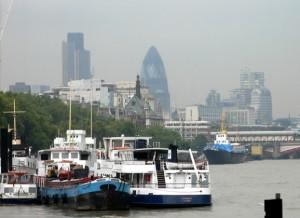 Londen Boot Botsing