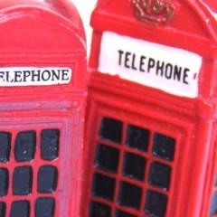 Beroemde telefooncellen worden groen