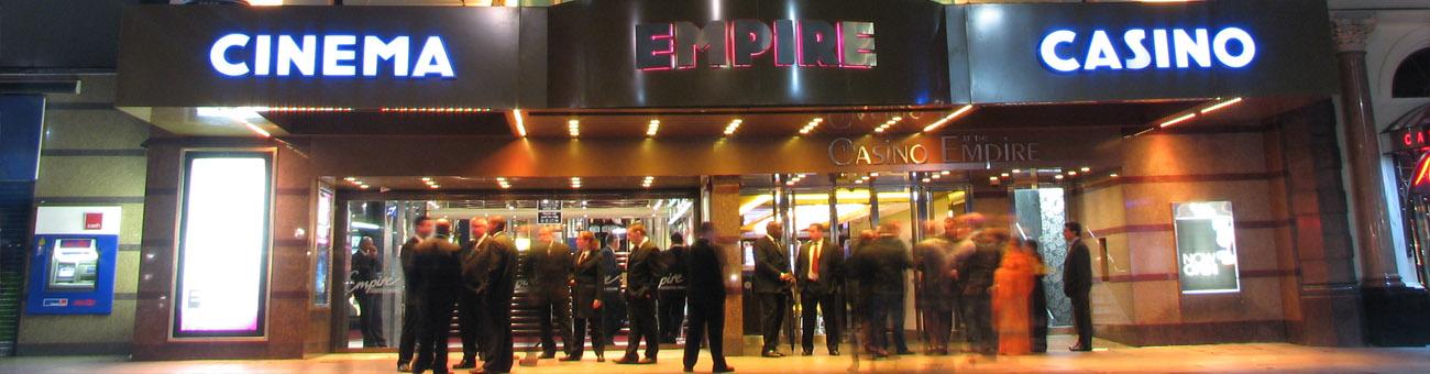 Empire casino london opening hours