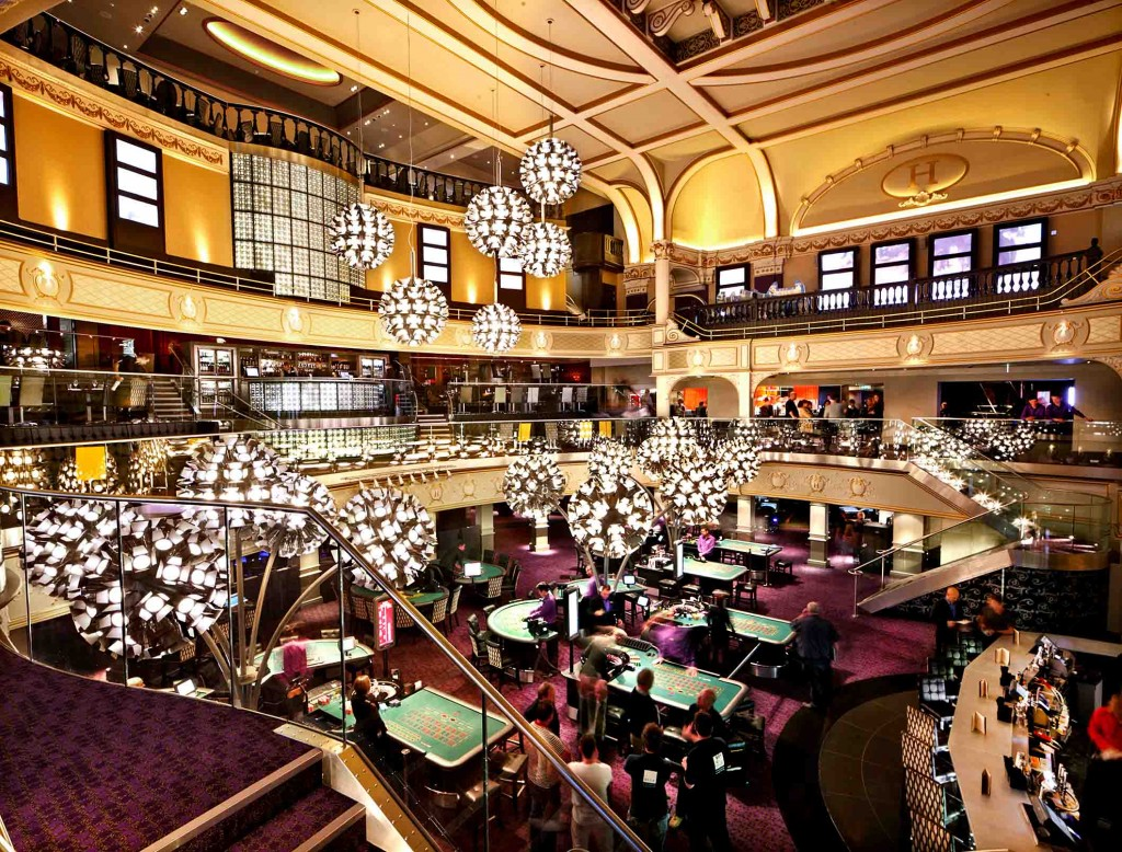 Hippodrome Casino Londen speelzaal